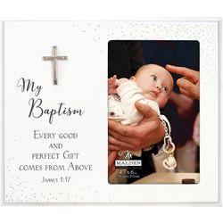 Malden 4'' x 6'' My Baptism Confetti Photo Frame