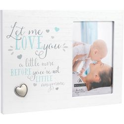 Malden 4'' x 6'' Love You A Little More Photo Frame