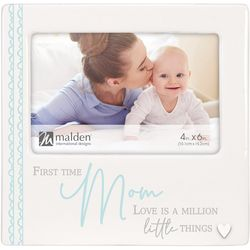Malden 4'' x 6'' First Time Mom Photo Frame