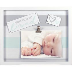Malden 4'' x 6'' You Are So Loved Clip Photo Frame