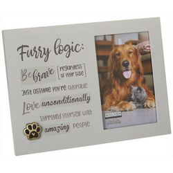 Malden 4'' x 6'' Furry Logic Photo Frame