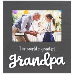 Malden 4'' x 6'' World's Greatest Grandpa Photo Frame