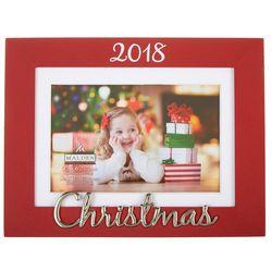 Malden 4'' x 6'' 2018 Christmas Photo Frame