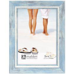 Malden 5'' x 7'' Coastal Solid Photo Frame