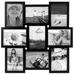 Malden 9 Opening 5'' x 7'' Black Collage Frame