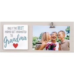 Malden 4'' x 6'' Promoted To Grandma Photo Clip Frame