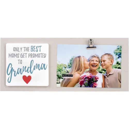 Malden 4\'\' x 6\'\' Promoted To Grandma Photo Clip Frame   Bealls Florida