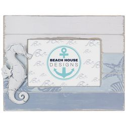 Young's 4'' x 6'' Seahorse Slat Photo Frame