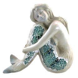 Unison Gifts Mosaic Sitting Mermaid Figurine