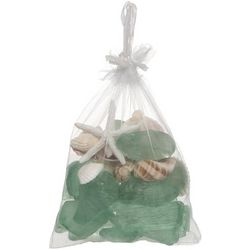Beach Combers 10.5 oz. Green Sea Glass Bag