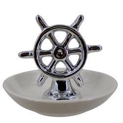 JD Yeatts Ship Wheel Trinket Tray