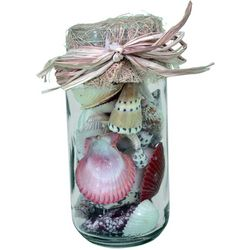 JD Yeatts Decorative Jar With Shells