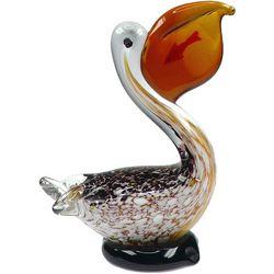 JD Yeatts Glass Pelican Figurine