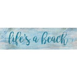 P. Graham Dunn Life's A Beach Toothpick Wood Sign