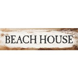 P. Graham Dunn Beach House Toothpick Wood Sign