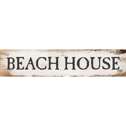 P. Graham Dunn Beach House Stick Wood Sign