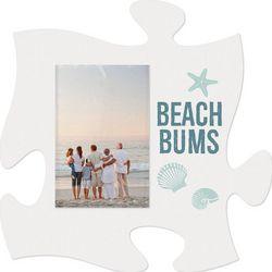 P. Graham Dunn Beach Bums Mini Puzzle Piece Photo Frame