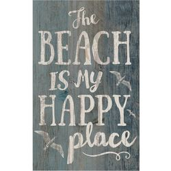 P. Graham Dunn Beach Is My Happy Place Wood Sign
