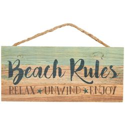 P. Graham Dunn Beach Rules Sign