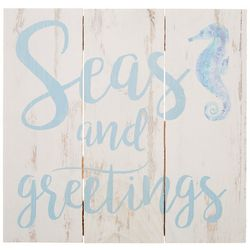 P. Graham Dunn Seas and Greetings Wall Sign