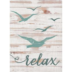 P. Graham Dunn Relax Small Sign