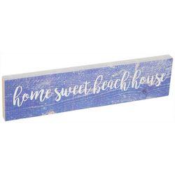 P. Graham Dunn Home Sweet Beach House Toothpick Wood Sign