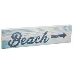P. Graham Dunn Beach Direction Toothpick Wood Sign
