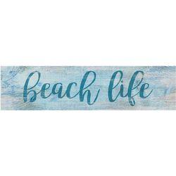 P. Graham Dunn Life's A Beach Wood Sign