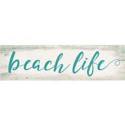 P. Graham Dunn Beach Life Toothpick Wood Sign
