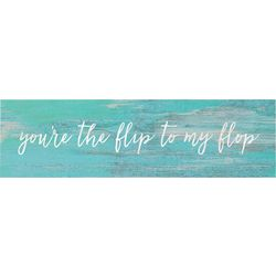 P. Graham Dunn Flip To My Flop Toothpick Sign