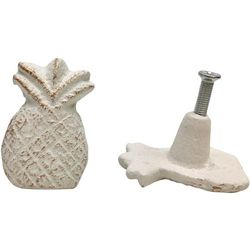 Coastal Home 2-pc. Pineapple Drawer Pull Set