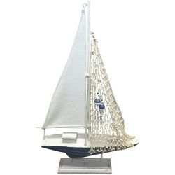 Fancy That Sandy Blues Sailboat Figurine