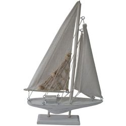 Fancy That Seascape Sailboat On Base Figurine