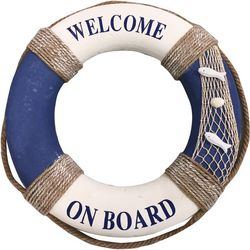 Fancy That Beach Chic Large Life Ring Decor