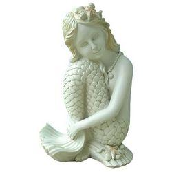 Fancy That Sitting Resin Ivory Mermaid Figurine