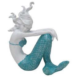 Fancy That Sail Away Sitting Mermaid Figurine