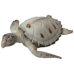 Fancy That Natures Coast Large Rustic Sea Turtle Figurine
