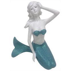Fancy That Mermaid Crossing Kneeling Mermaid Figurine