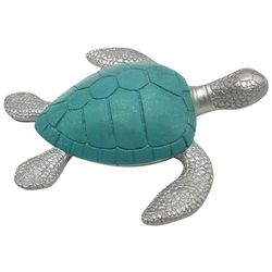 Fancy That Mermaid Crossing Large Sea Turtle Figurine