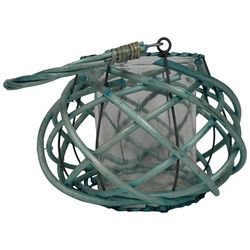 Fancy That Luminary Glass Willow Basket