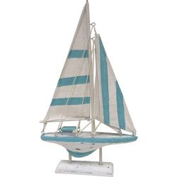 Fancy That Striped Sailboat Figurine