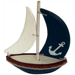 Fancy That Small Anchor Sailboat Figurine