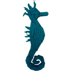 Fancy That Nautical Beach Large Driftwood Seahorse Decor