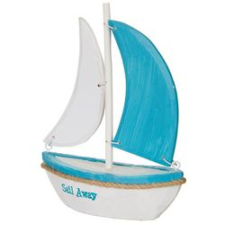 Fancy That Sail Away Sailboat Figurine