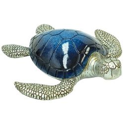 Fancy That Nautical Beach Large Navy Sea Turtle Figurine