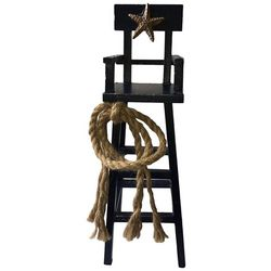 Fancy That Nautical Beach Lifeguard Chair Figurine