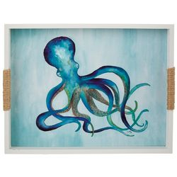 Fancy That Nautical Beach Small Octopus Serving Tray