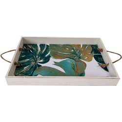 Fancy That Palm Breeze Large Rustic Palm Tray