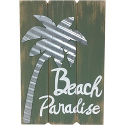 Fancy That Palm Breeze Palm Tree Wall Plaque
