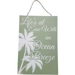 Fancy That Palm Breeze Life's At Ease Wall Plaque